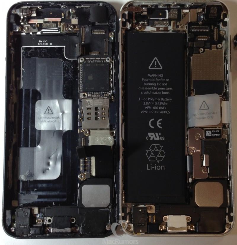 Прототип iPhone 5S с процессором A7