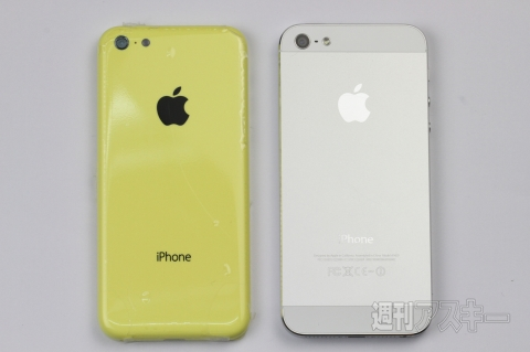 iPhone 5 и бюджетный iPhone на фотографиях