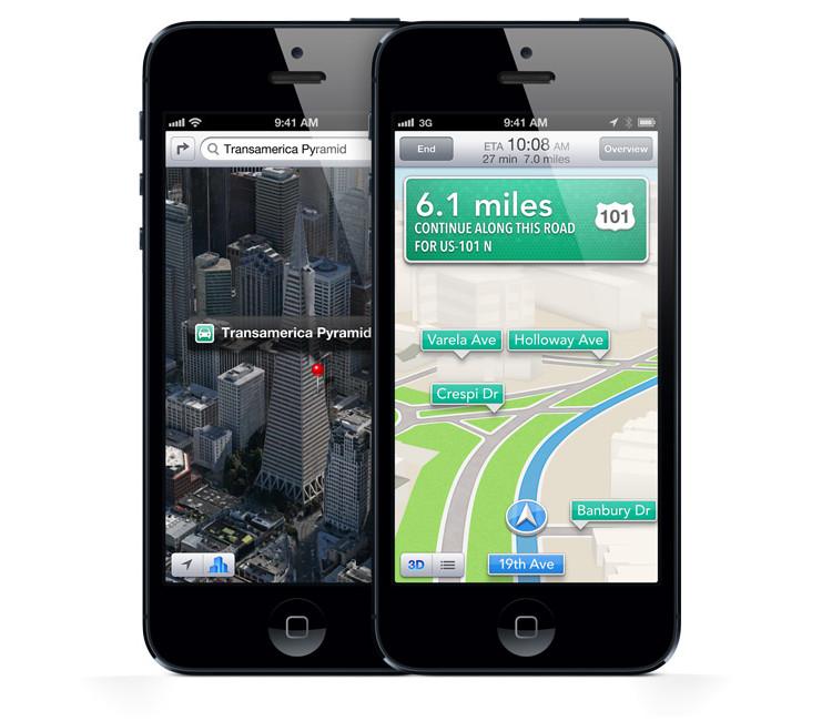 Apple продолжает работу над Картами