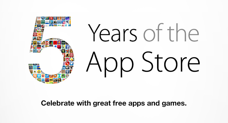 5 лет Apple App Store