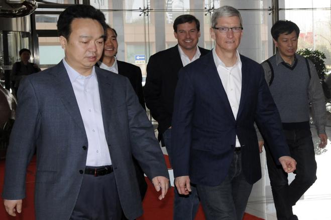 China Mobile подтверждает недавнюю встречу с генеральным директором Apple Тимом Куком