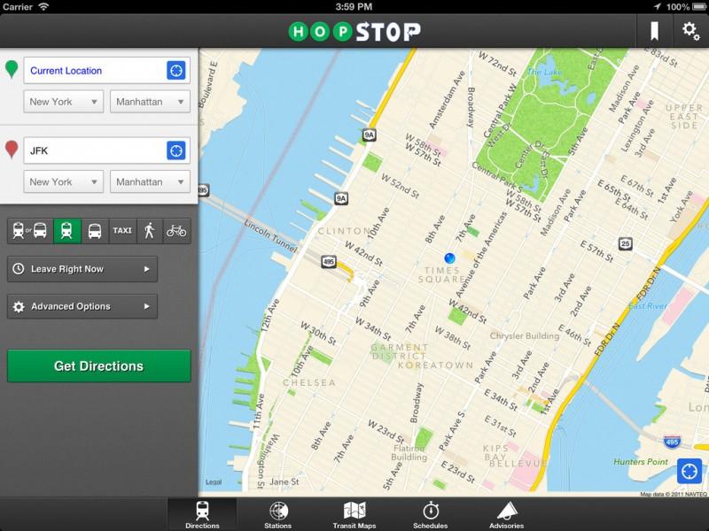 Apple покупает сервис HopStop.com