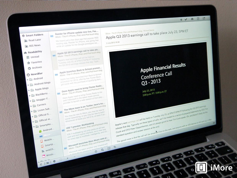 Обновилось приложение ReadKit для Mac с поддержкой Feedly