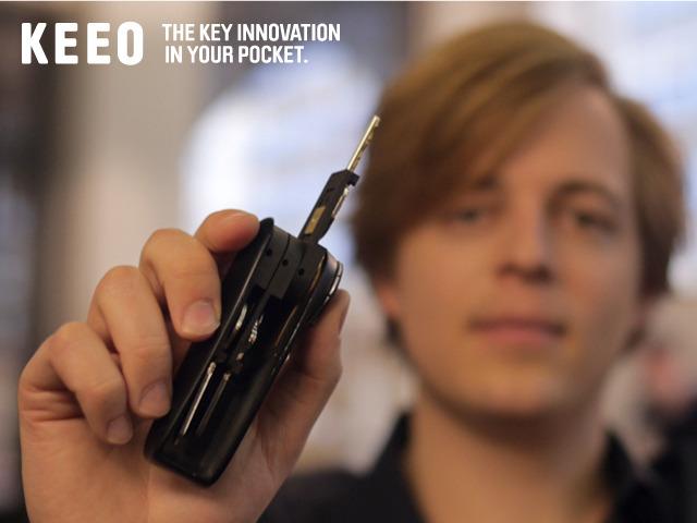 Знакомтесь — KEEO,  причудливый брелок для iPhone.