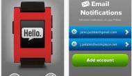 Pebble SmartWatch, наконец, получил поддержку уведомления по электронной почте в iOS