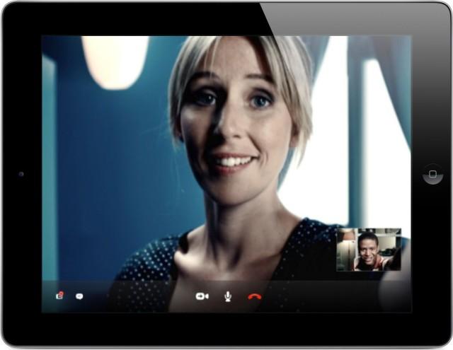Skype теперь поддерживает HD видео-звонки на Вашем IPad 4