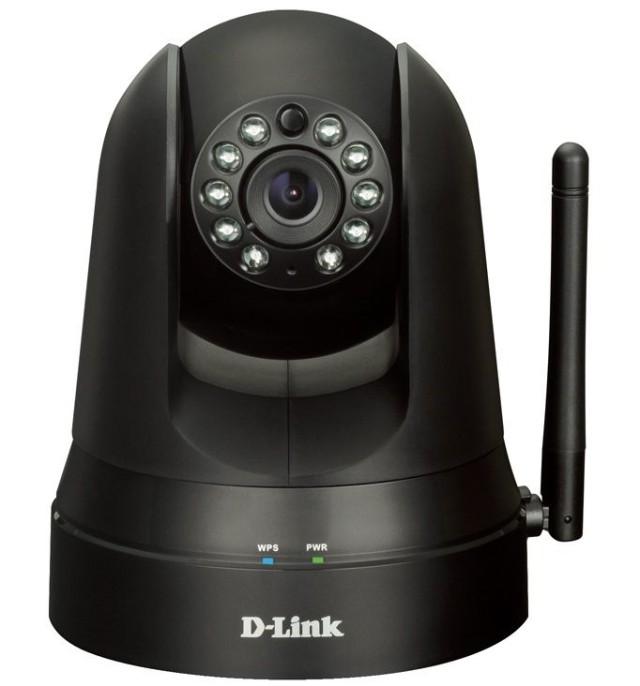 Новые камеры безопасности D-Link дешевые, оборудованны контролем панорамирования/наклона и связываются с iPhone
