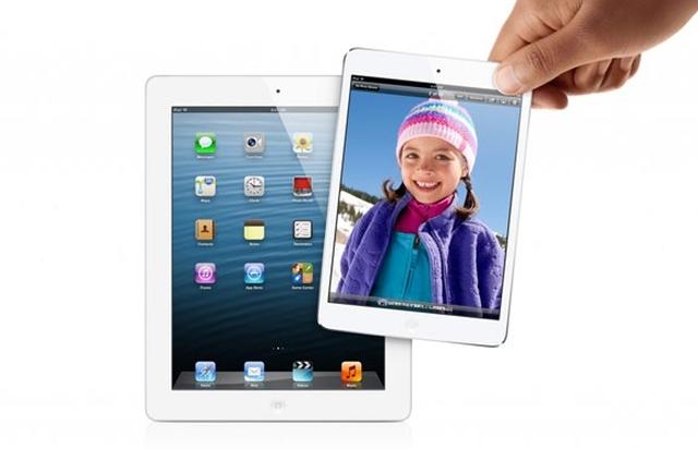 Bloomberg: анонс iPad 5 и iPad mini с Retina-дисплеем состоится 30 сентября