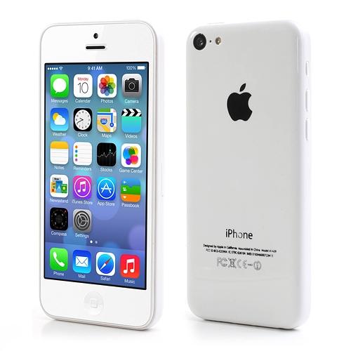 Официальные фото iPhone 5C