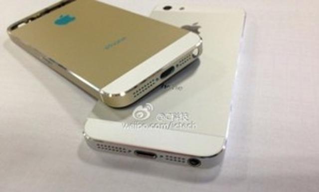 iPhone 5S будет доступен в золотистом исполнении