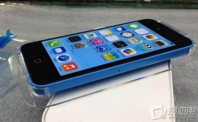 Новое фото коробок iPhone 5C