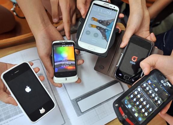 Наши смартфоны «под прицелом»