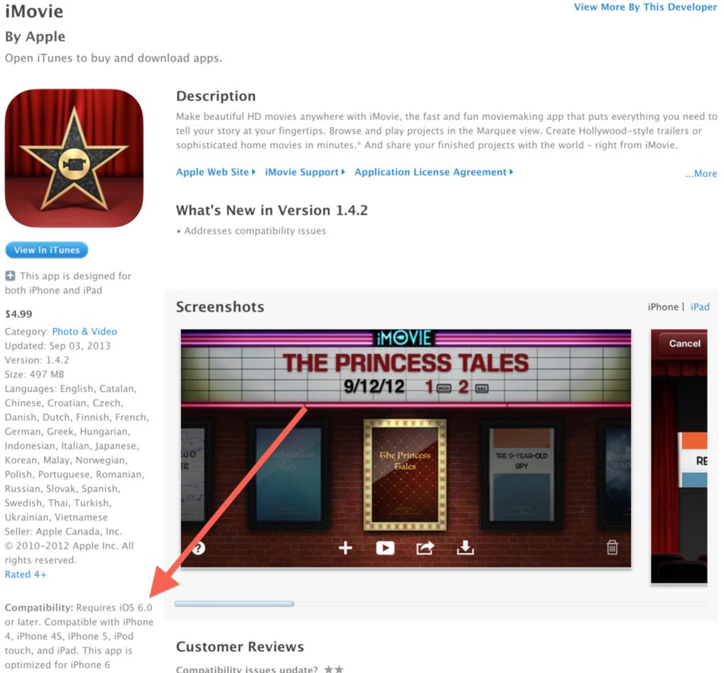 В App Store засветился iPhone 6