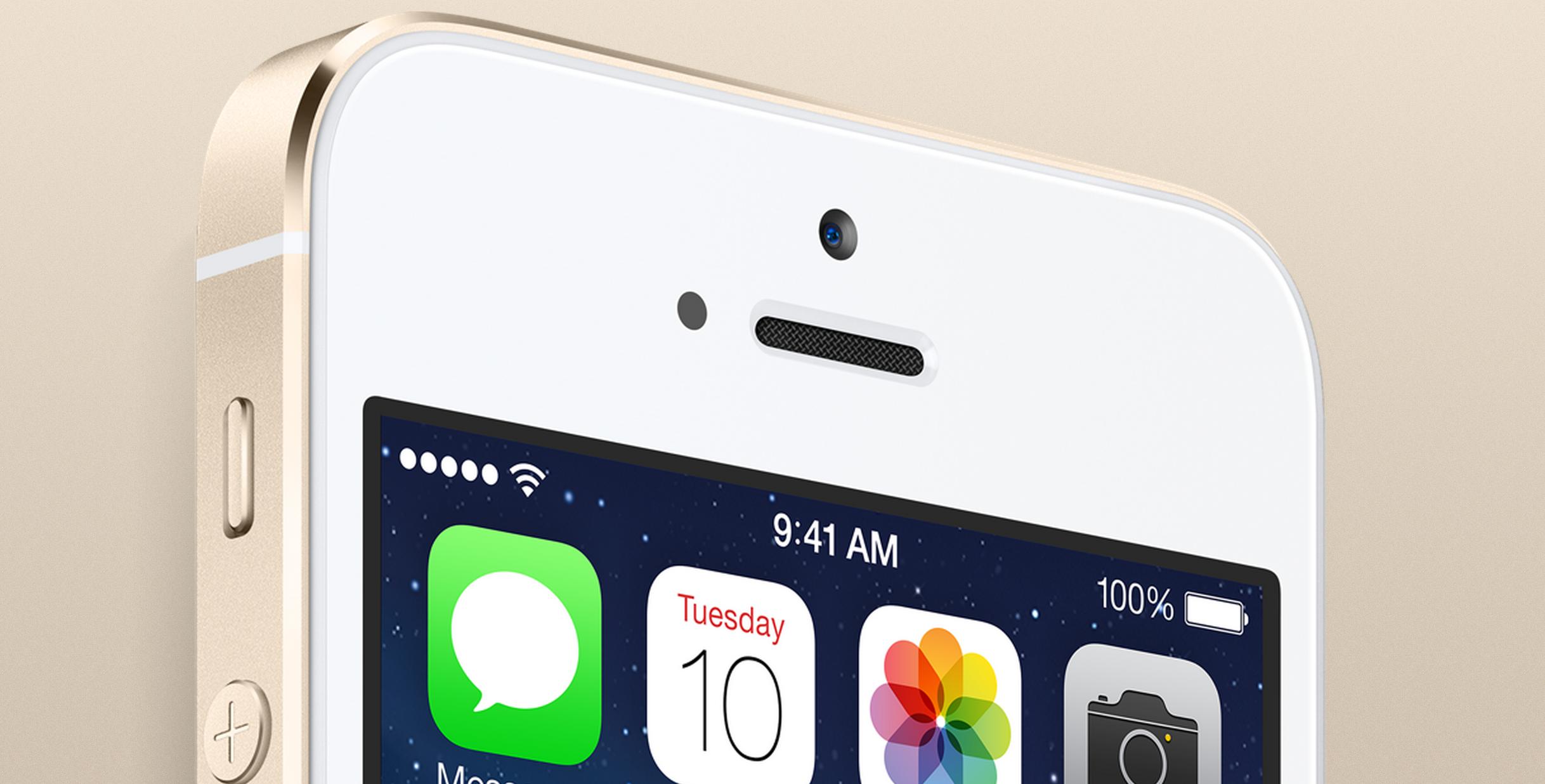 Золотые iPhone 5s были куплены в Китае за 1 минуту