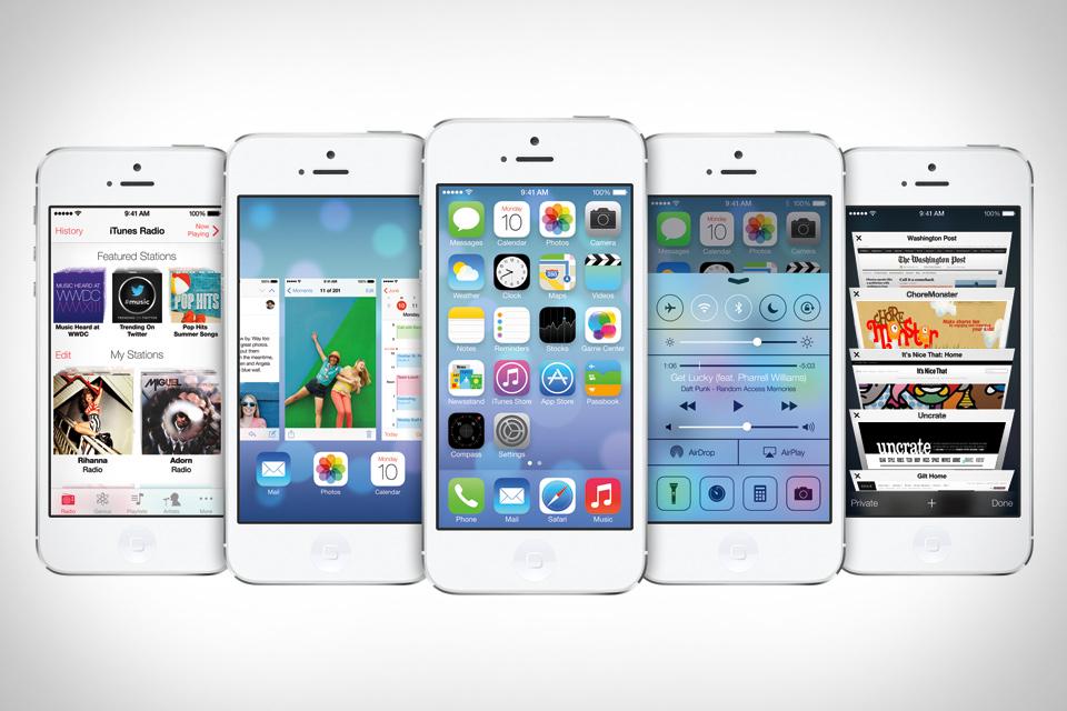 iOS 7 доступна для загрузки