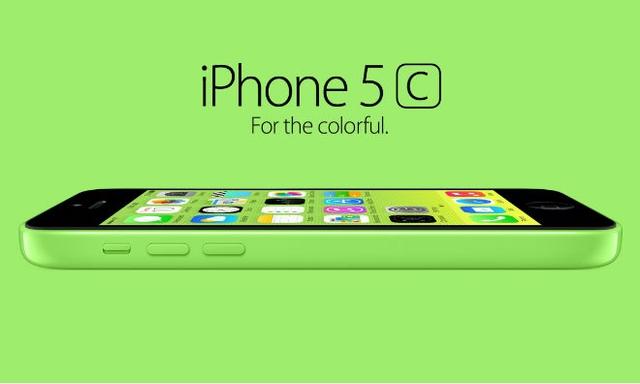 Обои iPhone 5C будут в цвет корпуса