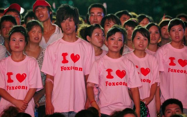 Foxconn: китайцы не желают собирать технику Apple на заводе
