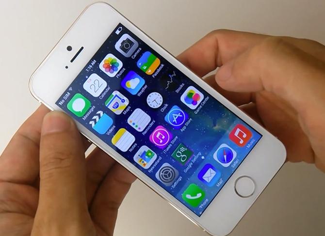 Китайцы представили точную копию iPhone 5s