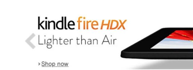 Amazon Kindle Fire HDX — легче воздуха