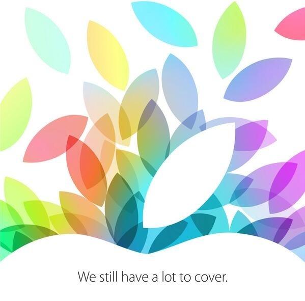 Apple покажет новые iPad 22 октября — официальная информация