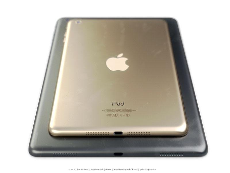 iPad 5 и iPad mini 2 — тоже «позолотят»?
