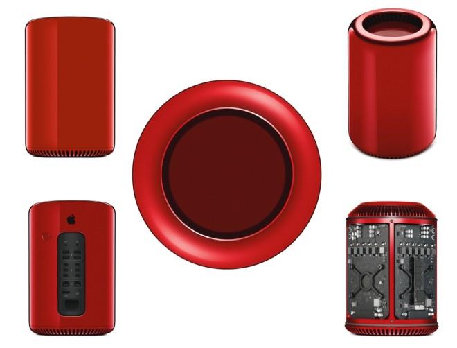 Джонатан Айв создал красный Mac Pro