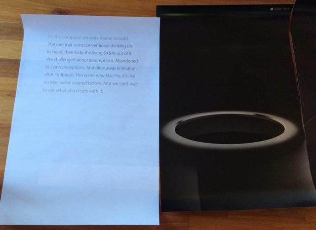 Apple разослала рекламные постеры Mac