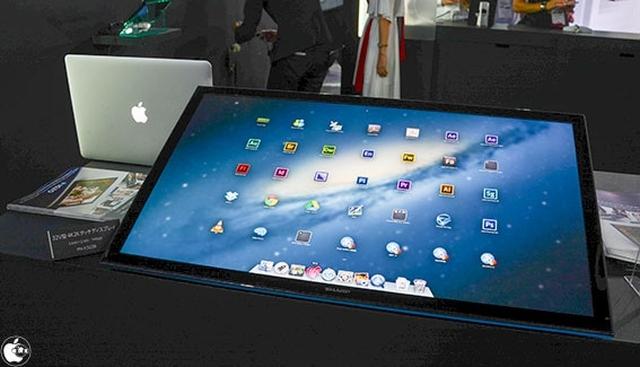 4K-мониторы Sharp будут поддерживать работу с OS X