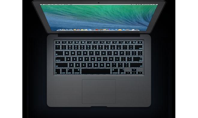 OS X Mavericks использует датчик освещения для определения присутствия пользователя