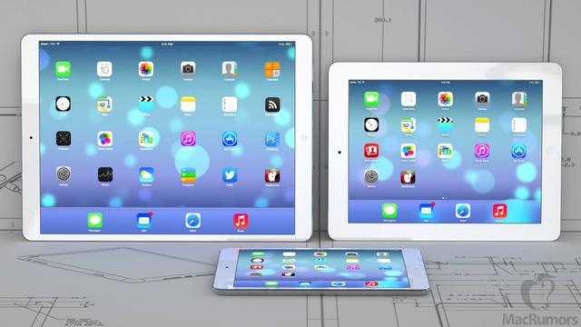 Apple начала производство дисплеев для iPad Maxi