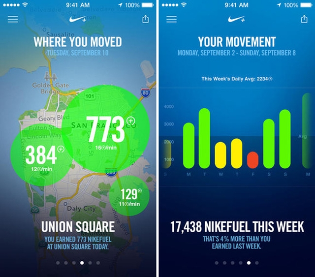 В App Store вышло фитнес-приложение Nike+ Move