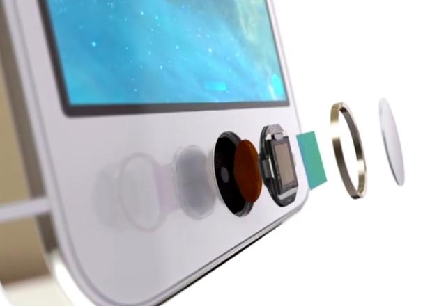 Apple запатентовала сканер отпечатков пальцев Touch ID
