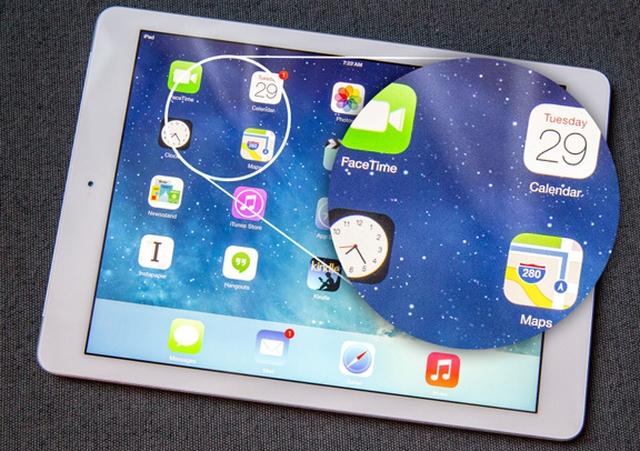 В iPad mini 2 установлены бракованные дисплеи