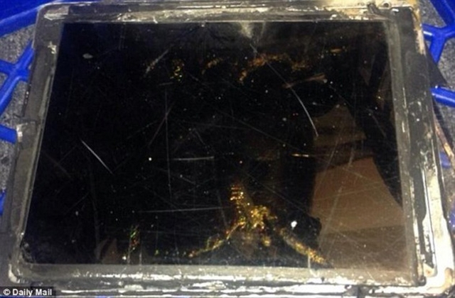 iPad Air взорвался в магазине в Австралии