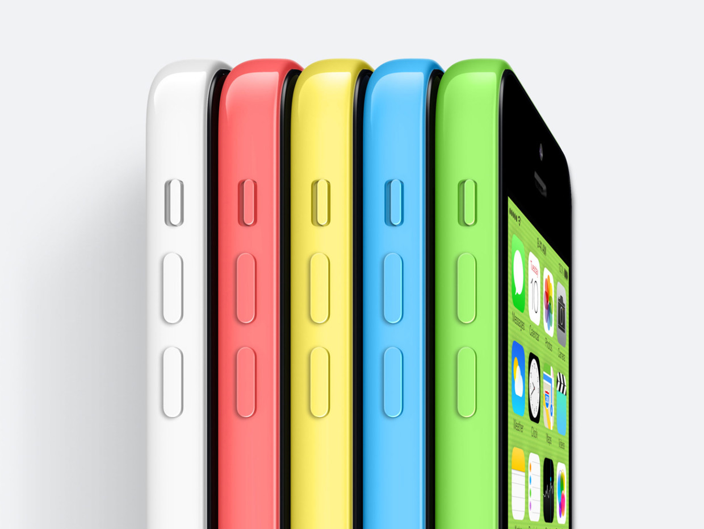 iPhone 5c не пошел в Китае