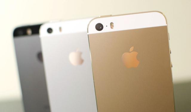 Китайцы раскупают iPhone 5s в золотистом исполнении