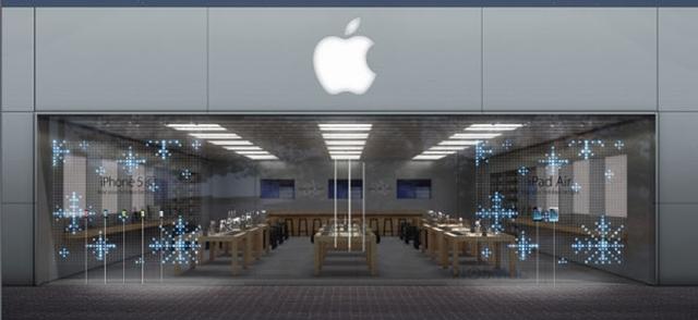 Apple украсит свои магазины к Рождеству