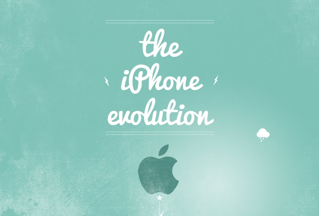Инфографика: Эволюция iPhone