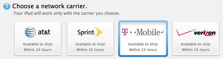 T-Mobile подарит 200 МБ траффика ежемесячно владельцам новых iPad Air