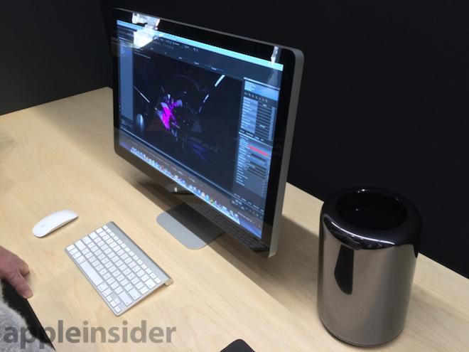 Для Mac Pro уже готово первое обновление