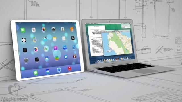Apple тестирует 12,9-дюймовые экраны