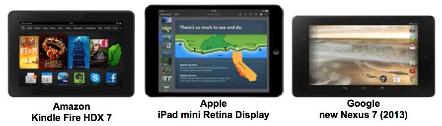 Экран iPad mini признан устаревшим