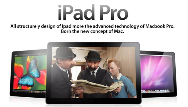 Apple готовит 12,9-дюймовый iPad Pro