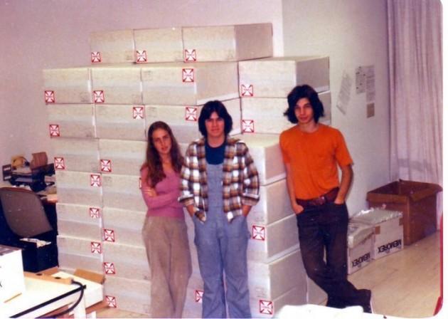 Найдены снимки с самого первого офиса компании Apple