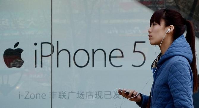 Apple — пятый производитель смартфонов в Китае