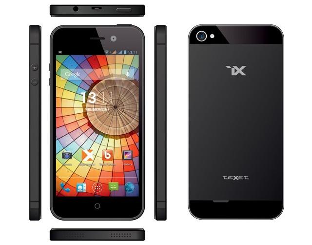 teXet представила бюджетную копию iPhone