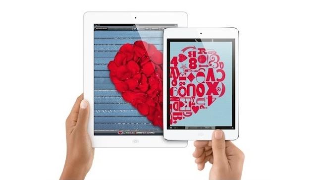 iPad — самый желанный подарок на 14 февраля