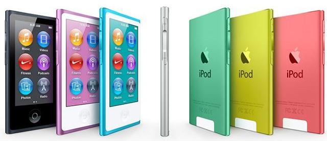 iPhone 6 это смесь iPhone 5c и iPod nano 7G
