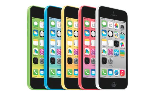 Стартовали продажи iPhone 5c 8Gb