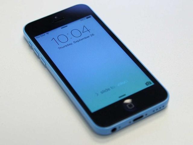 iPhone 5c обходит по популярности смартфоны Android, BlackBerry и Windows Phone
